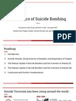 Economics of Suicide Bombing