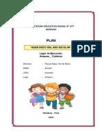 Plan Del Buen Inicio Del Año Escolar 2016