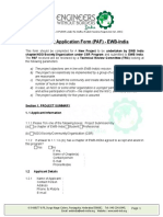 Project Application Form Final