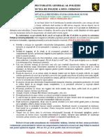 RECOMANDARE Agenti Economici