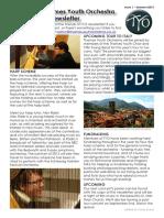 Friends of TYO Newsletter Issue 1