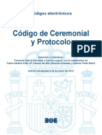 BOE-116 Codigo de Ceremonial y Protocolo