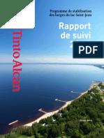 Rio Tinto Alcan Rapport_suivi 2012