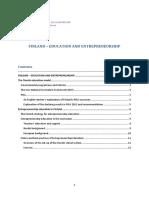 Entrepreneurship Education in Finland