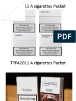 TPPA2011 a Cigarettes Packet