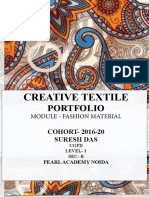 Creative Textile exploration in Pearl Academy