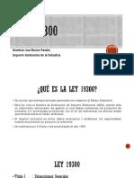 Ley 19300 resumen