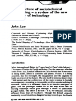 Law - 1987 - The Structure of Sociotechnical Engineering