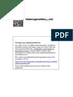 Law - 2002 - Hidden Heterogeneities