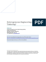 Law - 2011 - Heterogeneous, Engineering and Tinkering