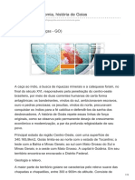 Geografia Economia História de Goiás.