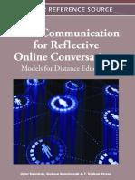 Demiray U., Kurubacak G., Yuzer T.v.-meta-Communication for Reflective Online Conversations_ Models