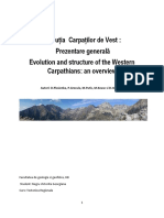 Evolutia Carpatilor Occidentali 1
