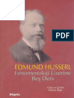 Edmund Husserl - Fenomenoloji Üzerine Beş Ders.pdf