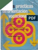 Libro Nuevas Practicas de Orientacion Vocaional de Ismael Vidales Delgado