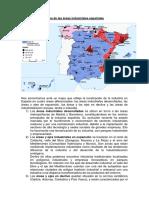 Mapa de Las Áreas Industriales Españolas