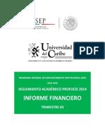 Informe Financiero Trimestre 2014