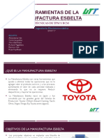 Herramientas de La Manufactura Esbelta