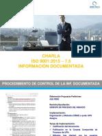 CHARLA - Información Documentada i