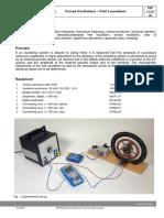 Forced Oscillations – Pohl's Pendulum-p2132701