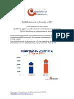 Conflictividad Social en Venezuela 2017 1