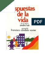 Candido Xavier, Francisco - Respuestas de la vida.pdf