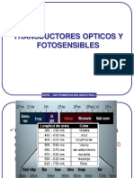 Transductores Opticos y Fotosensibles