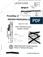 Proceedings of Nuclear Propulsion Conference