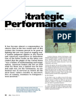 On Strategic Performance