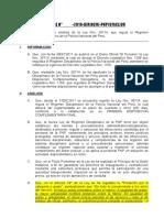 Informe Sobre La Ley 30714 - Regimen Disciplinario de La Pnp