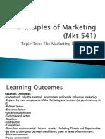 Topic 2 Marketing Environment 2012[1]