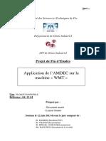 Application de l'AMDEC Sur La - Essounni Maria_771