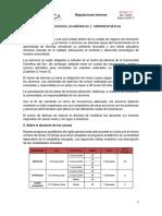 Reglamento Centro de Idiomas - UCSUR