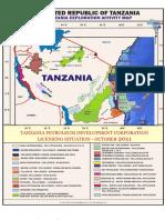 Tanzania Oil Exploration Basins