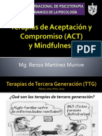 ACT y Mindfulness