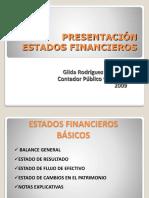 Presentacion n0 4 Presentacion de Los Estados Financieros