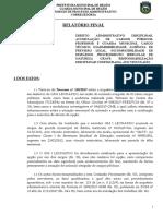 Relatorio Final Acumulação Inquérito - GM LEONARDO