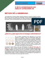 Determinacion de Contaminacion Por Particulas Solidas en Combustibel de Aviacion