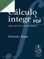 Calculo Integral en Una Variable-G.rojas