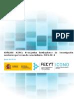 Análisis ICONO Instituciones