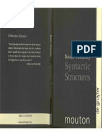 Chomsky Syntactic Structures 2ed
