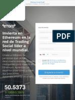 Ethereum Invertir