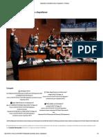 25-01-18 Diputados y Senadores Buscan Chapulinear _ 24 Horas