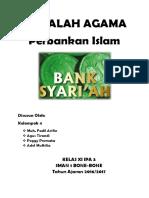 MAKALAH AGAMA Perbankan Islam