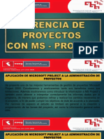 Gerencia de Proyectos Ms- Project