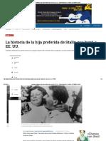 5 Svetlana Alliluyeva, La Hija de Stalin Que Huyó a EE. UU ELTIEMPO