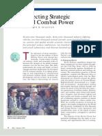 Projecting Strategic Land Combat Power