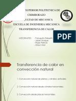 Diapositivas Conveccion Natural