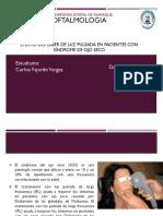 Efecto del láser de luz pulsada en pacientes con síndrome de ojo seco.pptx