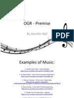 OGR - Premise